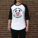 Kawaii Panda Jersey - Unisex Size S - Doublesided - Rogue Panda - Raglan Baseball Jersey T-Shirt
