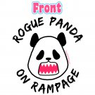 Kawaii Panda Jersey - Unisex Size L - Doublesided - Rogue Panda - Raglan Baseball Jersey T-Shirt