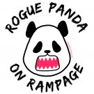 Ladies' T-Shirt - Size XL - White - Kawaii Rogue Panda