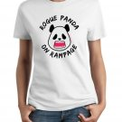 Ladies' T-Shirt - Size M - White - Kawaii Rogue Panda