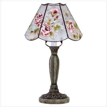 Victorian Rose Lamp