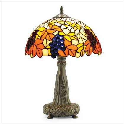 Tiffany-inspired Lamp