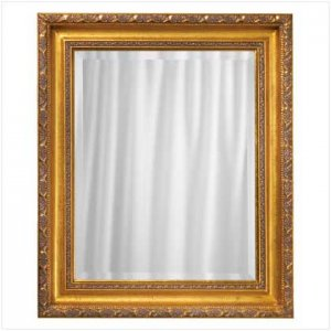 Golden Framed Wall Mirror