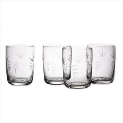 SET 4 OLD FASHIONED GLASSES