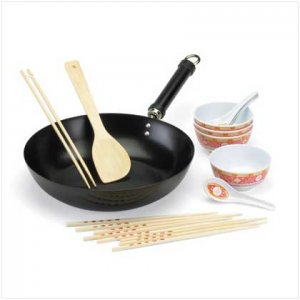 16 PC STIR FRY PAN SET