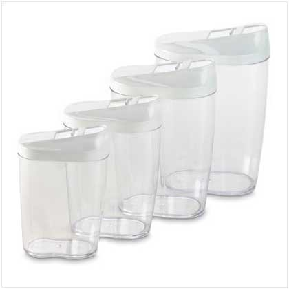8 PC. STORAGE CONTAINERS SET
