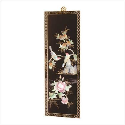 LAQ'D WOOD SCREEN PINK FLORAL