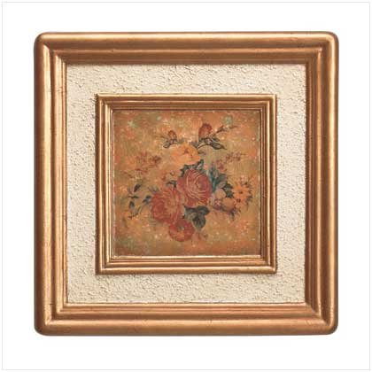 ANTQ. ROSE WALL FRAME