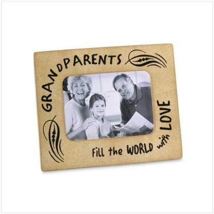 """GRANDPARENTS"" PHOTO FRAME"