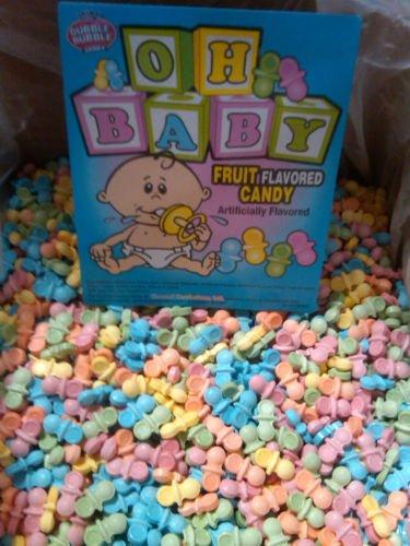 Pacifier Baby Shower Favor Candy 2lb Bulk Bag