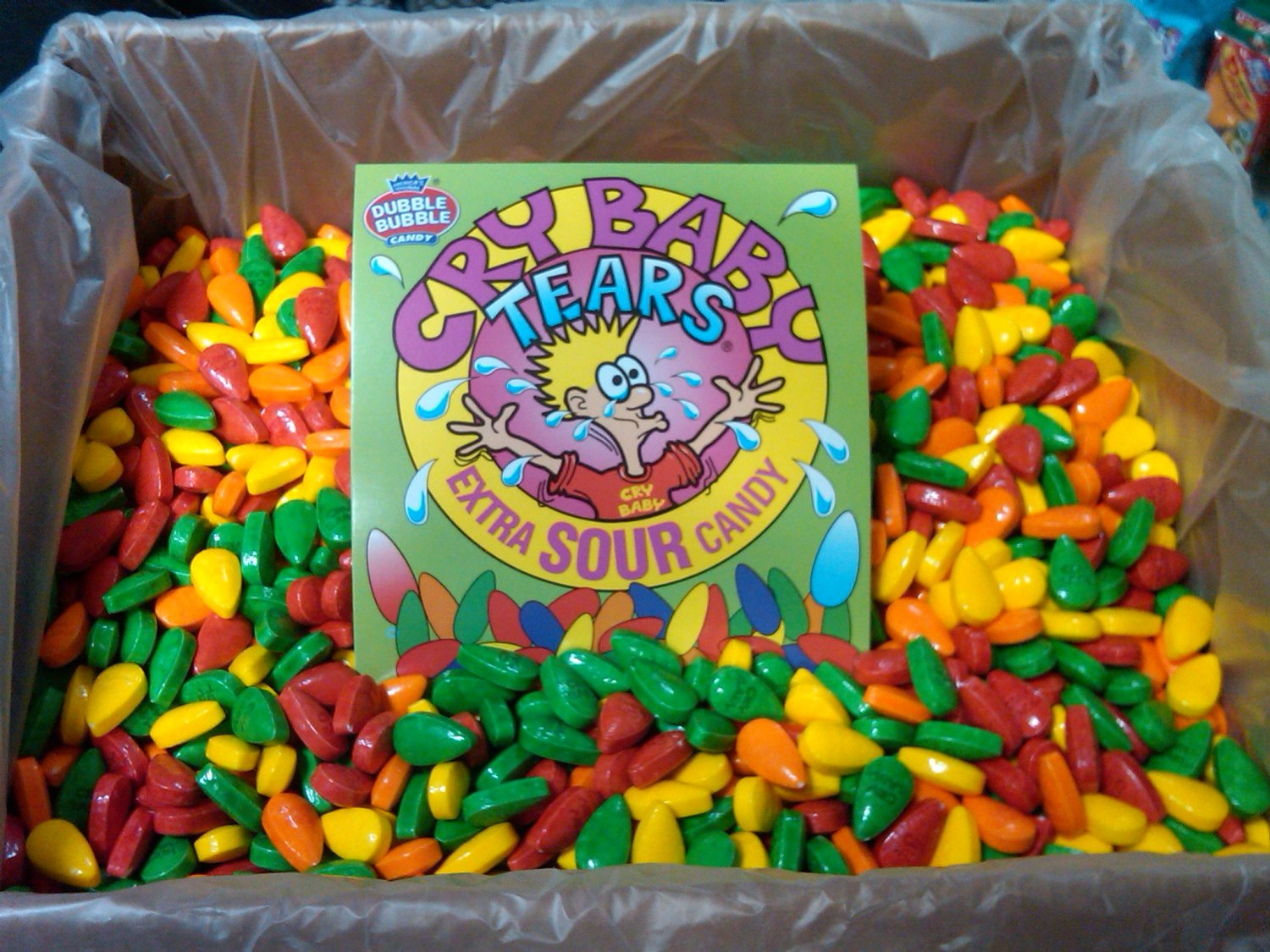 CRY BABY TEARS CANDY 2 LBS