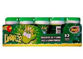Jovy Limonazo Mexican Candy Salt & Lemon Powder  2 boxes 10ct ea