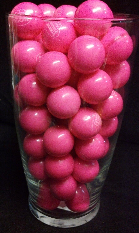"Dubble Bubble Pink 1"" Gumballs 2 Lbs"