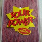 Sour Power Strawberry Candy Belts 150 count