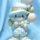 "Precious Moments Figurine: ""I Get a Bang Out of You"", 1984, Enesco #12262, Olive Branch Mark, Exc."