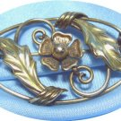 *Graceful Vintage Oval Brooch, Binder Bros. 1/20-12K GF, Lovely & Old-Fashioned
