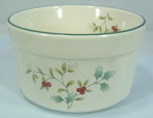 "Pfaltzgraff  Christmas""Winterberry"" Ramekin; Useful, Beautiful as Well!"