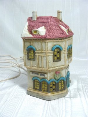 Memories Collection:  Porcelain Lighted General Store