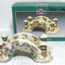 Christmas Memories Porcelain Bridge