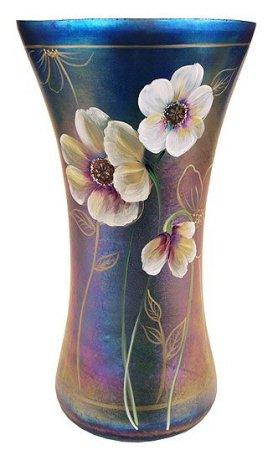 Fenton Glass FAVRENE Connoisseur Collection VASE 2009 #206/750 Lady Elegance