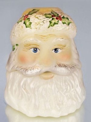 FENTON Glass SANTA Fairy LAMP Light LIMITED Edition