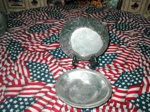 Vintage Armetale Set of 2 Bowls