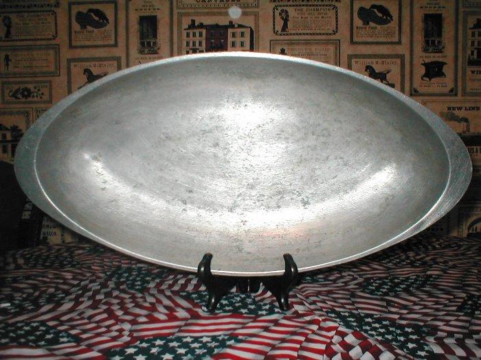 Vintage Armetale Oval Dish