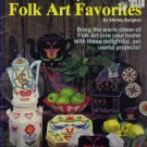 Plastic Canvas Folk Art Favorites Patterns 1983