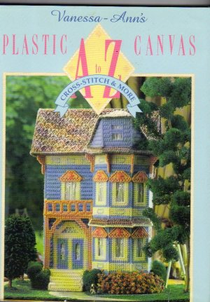 Vanessa-Ann Plastic Canvas A to Z HB Book DJ