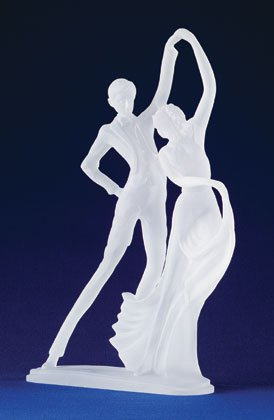 Frosted Ballroom Dancing Couple