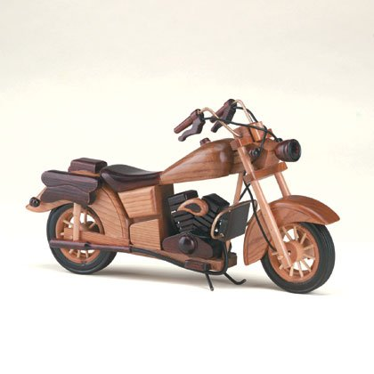 Wood Motorcycle Model