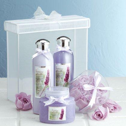 Luxury Lavender Bath Set