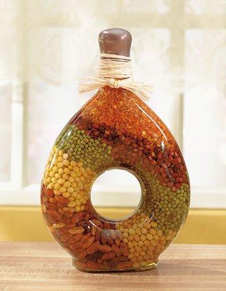 Colorful Bean Display
