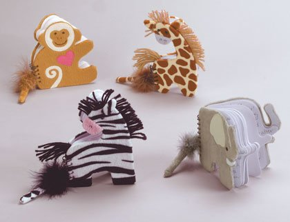 Plush Animal Notebook and Pen Set