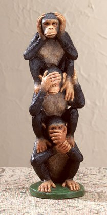 Totem Pole of Innocent Monkeys