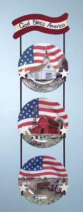 Americana Plate Set
