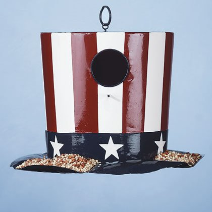 Uncle Sam's Birdhouse