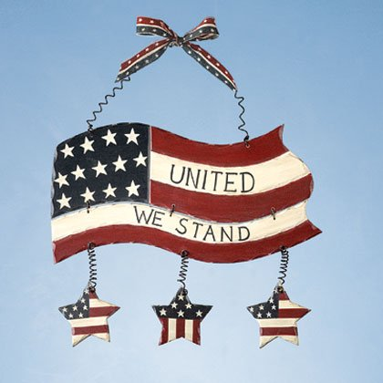 United We Stand Plaque