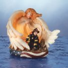 Fireman's Guardian Angel Nightlight