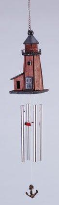 Wood Lighthouse Windchime