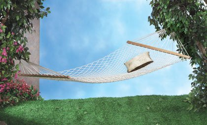 Cotton Two-Person Hammock