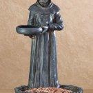 St Francis Birdbath and Bird Feeder