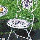 Tile Mosaic Bistro Chair