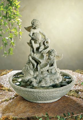 Three Cherub Water Fountain