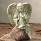 Resting Angel with Bird