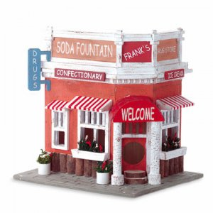 Soda Fountain Birdhouse