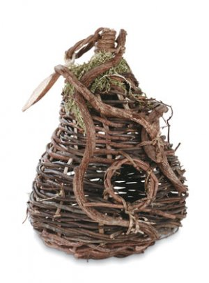 Pear Basket Birdhouse