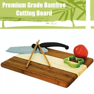 SUPERIOR PREMIUM GRADE BAMBOO CUTTING BOARD