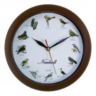 NEWHALL™ SINGING BIRD WALL CLOCK