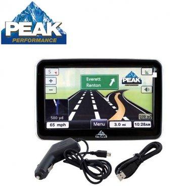 PEAK® 5 INCH GPS NAVIGATION SYSTEM